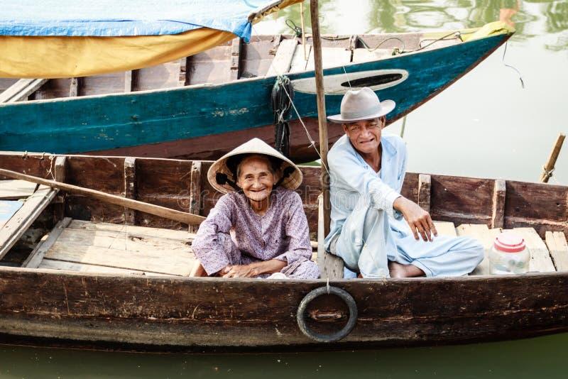 Ζωή του βιετναμέζικου προμηθευτή στοκ φωτογραφία