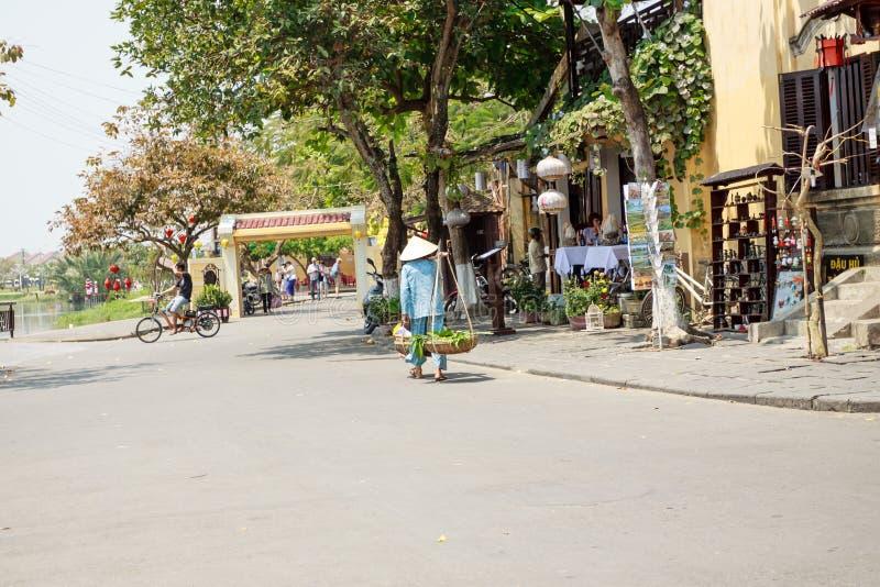Ζωή του βιετναμέζικου προμηθευτή στοκ εικόνες