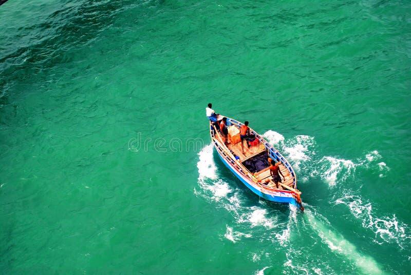 Ζωή ψαράδων ` s στη θάλασσα στοκ φωτογραφία με δικαίωμα ελεύθερης χρήσης