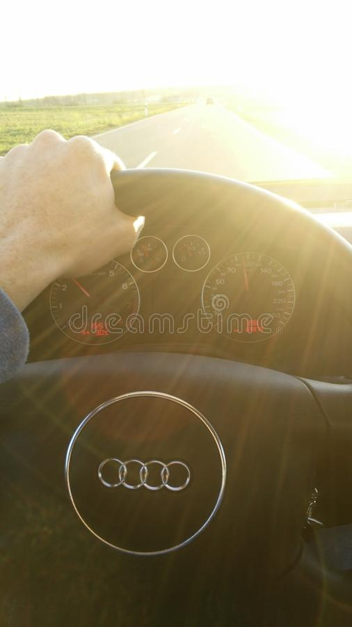 Ζωή Audi στοκ φωτογραφία με δικαίωμα ελεύθερης χρήσης