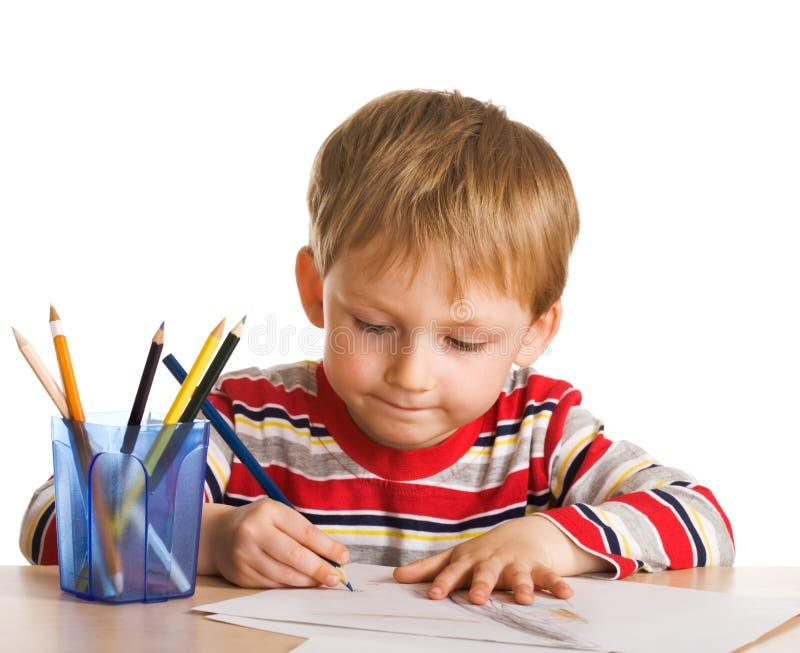 ζωγράφος μικρός στοκ εικόνα