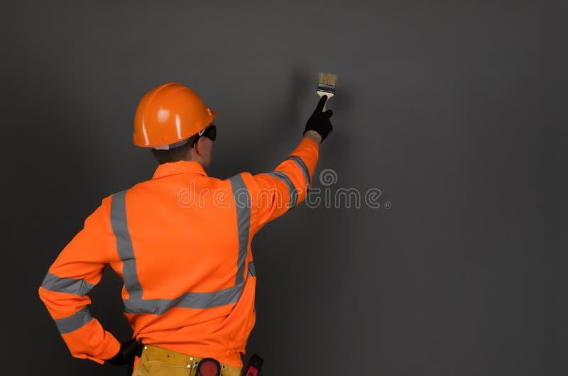 Ζωγράφος σπιτιών στοκ φωτογραφίες