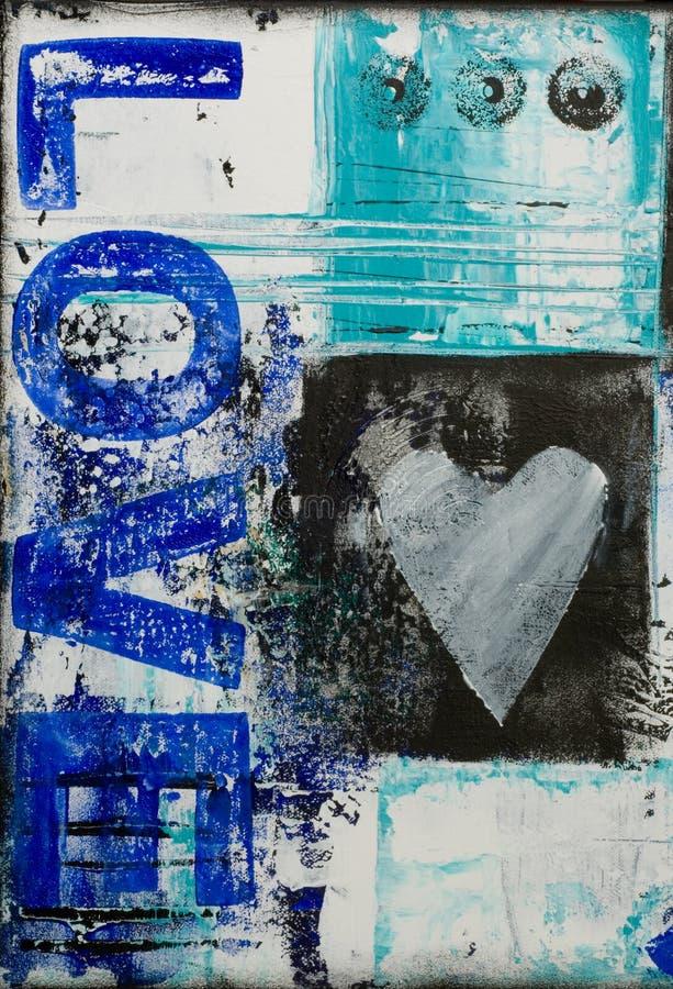 ζωγραφική αγάπης απεικόνιση αποθεμάτων