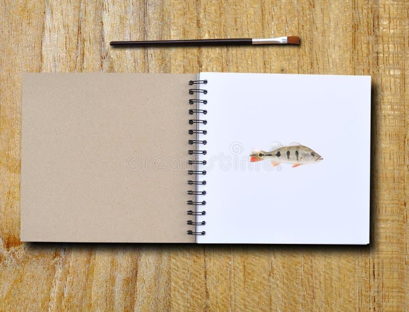 ζωγραφική βιβλίων στοκ εικόνα