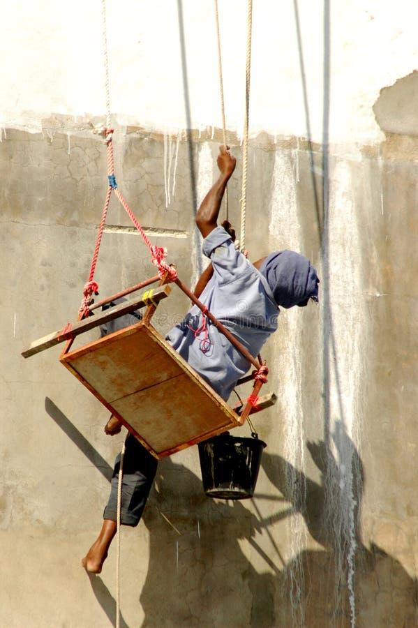 ζωγραφική οικοδόμησης στοκ εικόνα με δικαίωμα ελεύθερης χρήσης