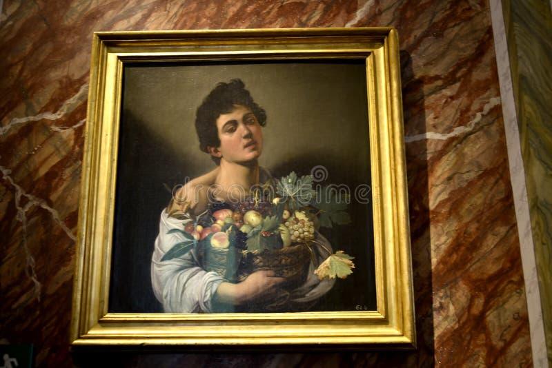 Ζωγραφική στο Galleria Borghese Ρώμη Ιταλία στοκ εικόνες