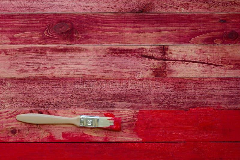 Ζωγραφική των παλαιών ξύλινων σανίδων στοκ φωτογραφία με δικαίωμα ελεύθερης χρήσης