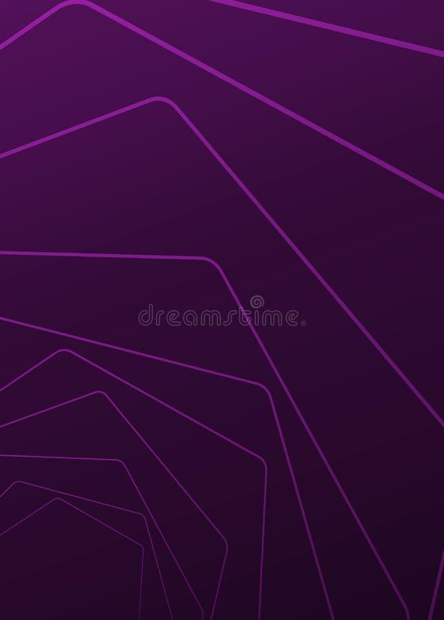 Ζωηρόχρωμα έργα τέχνης σχεδίου υποβάθρου αφηρημένα ή διάφορα, επαγγελματικές κάρτες Μελλοντικό γεωμετρικό πρότυπο με τη μετάβαση απεικόνιση αποθεμάτων