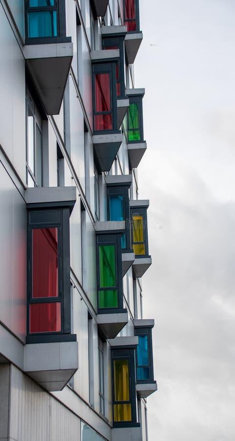 Ζωηρόχρωμα επίπεδα παράθυρα στοκ εικόνα με δικαίωμα ελεύθερης χρήσης