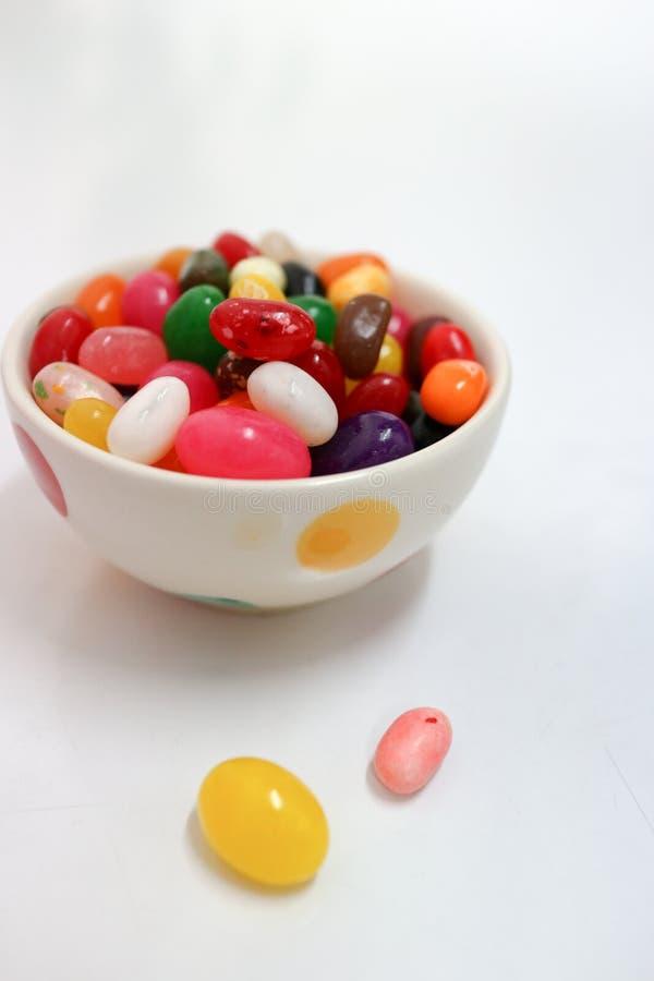 Ζωηρόχρωμα καραμέλα και Sweed φρούτων στοκ φωτογραφία