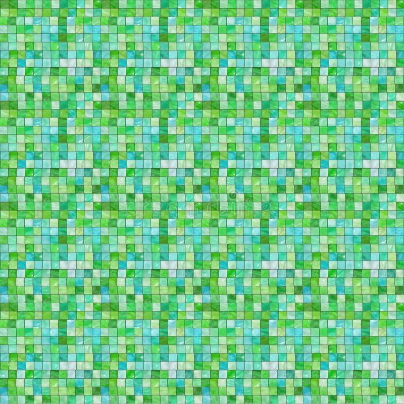 ζωηρόχρωμα κεραμίδια διανυσματική απεικόνιση