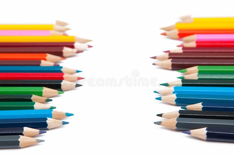 ζωηρόχρωμα κραγιόνια στοκ φωτογραφία με δικαίωμα ελεύθερης χρήσης