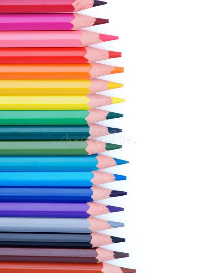 Download ζωηρόχρωμα μολύβια πλαισί&o Στοκ Εικόνα - εικόνα από πολυ, κατασκευασμένος: 62724803