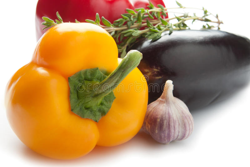 Ζωηρόχρωμα πιπέρια κουδουνιών στοκ φωτογραφίες με δικαίωμα ελεύθερης χρήσης