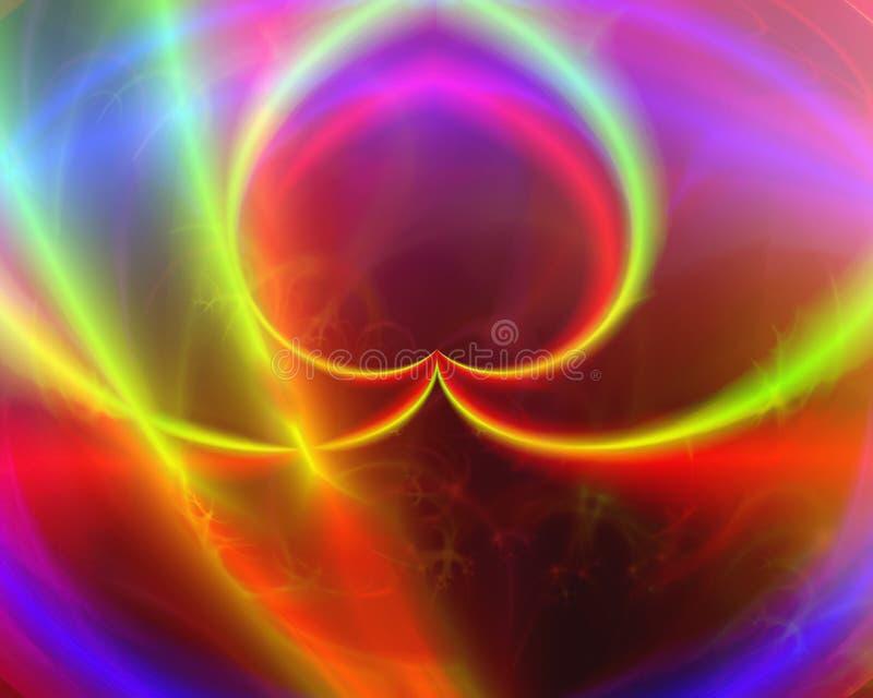 Ζωηρόχρωμα ρευστά διανυσματική απεικόνιση
