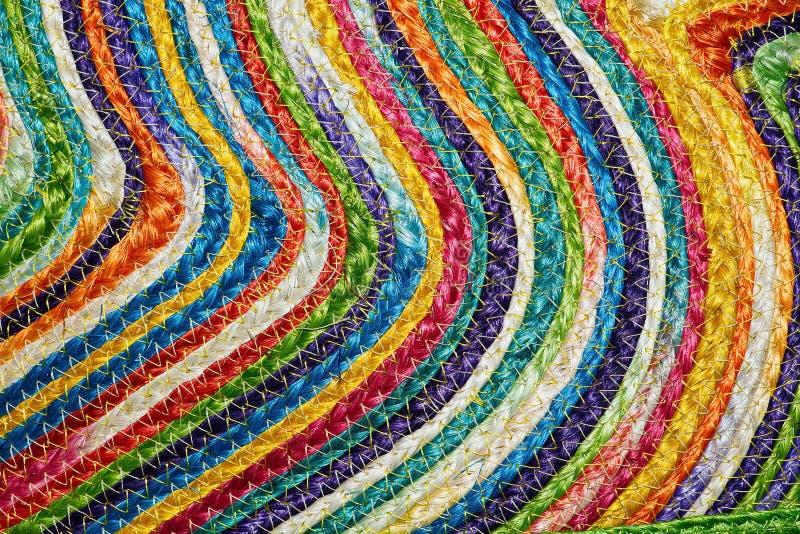 Download Ζωηρόχρωμα υφαμένα Taxtures & υπόβαθρο κουβερτών μαλλιού σίζαλ Στοκ Εικόνες - εικόνα από ίνα, σπάγγος: 62713816
