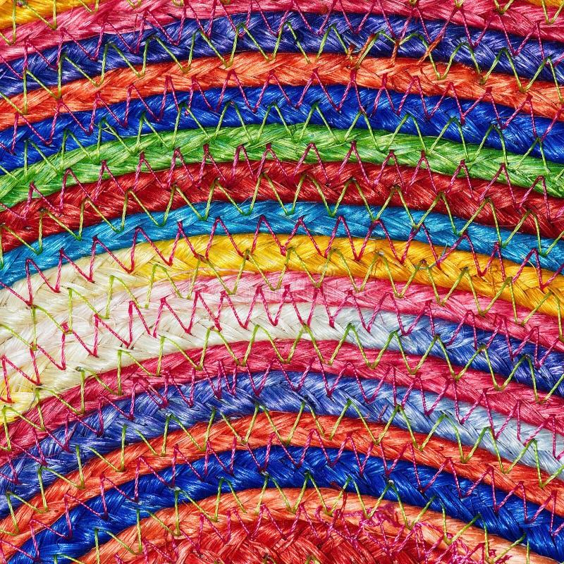 Download Ζωηρόχρωμα υφαμένα Taxtures & υπόβαθρο κουβερτών μαλλιού σίζαλ Στοκ Εικόνα - εικόνα από άχυρο, κανένας: 62715687