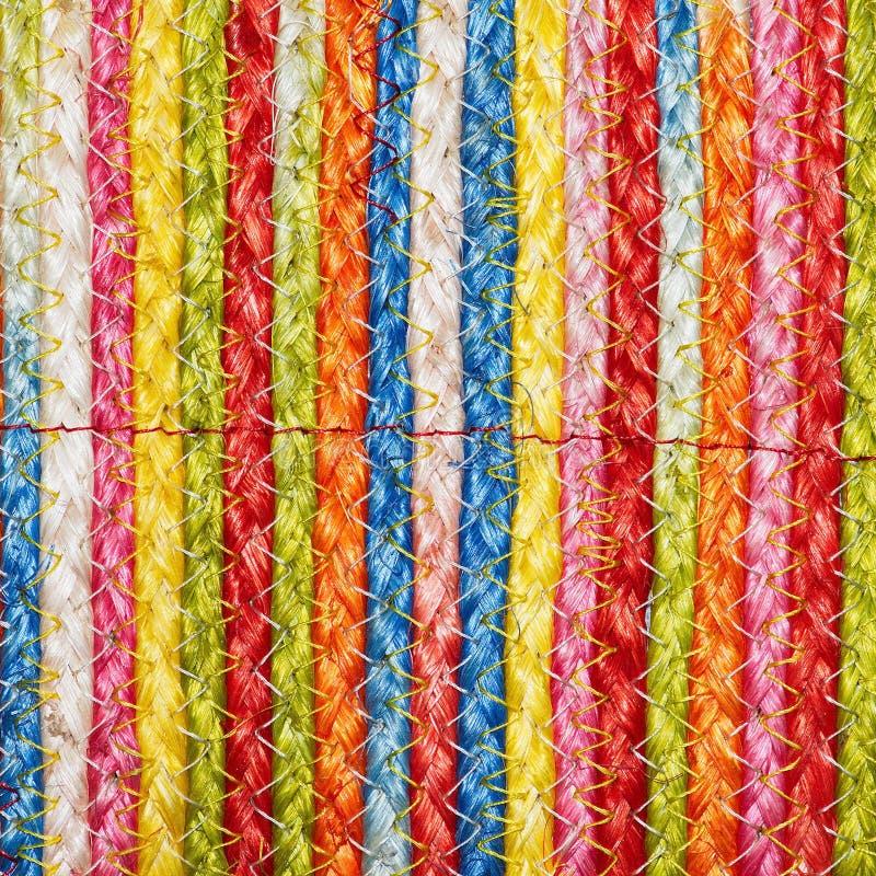 Download Ζωηρόχρωμα υφαμένα Taxtures & υπόβαθρο κουβερτών μαλλιού σίζαλ Στοκ Εικόνα - εικόνα από κάνναβη, δεμένος: 62715821