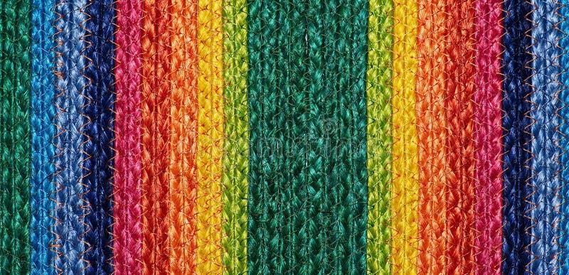 Download Ζωηρόχρωμα υφαμένα Taxtures & υπόβαθρο κουβερτών μαλλιού σίζαλ Στοκ Εικόνες - εικόνα από σπάγγος, κανένας: 62716054