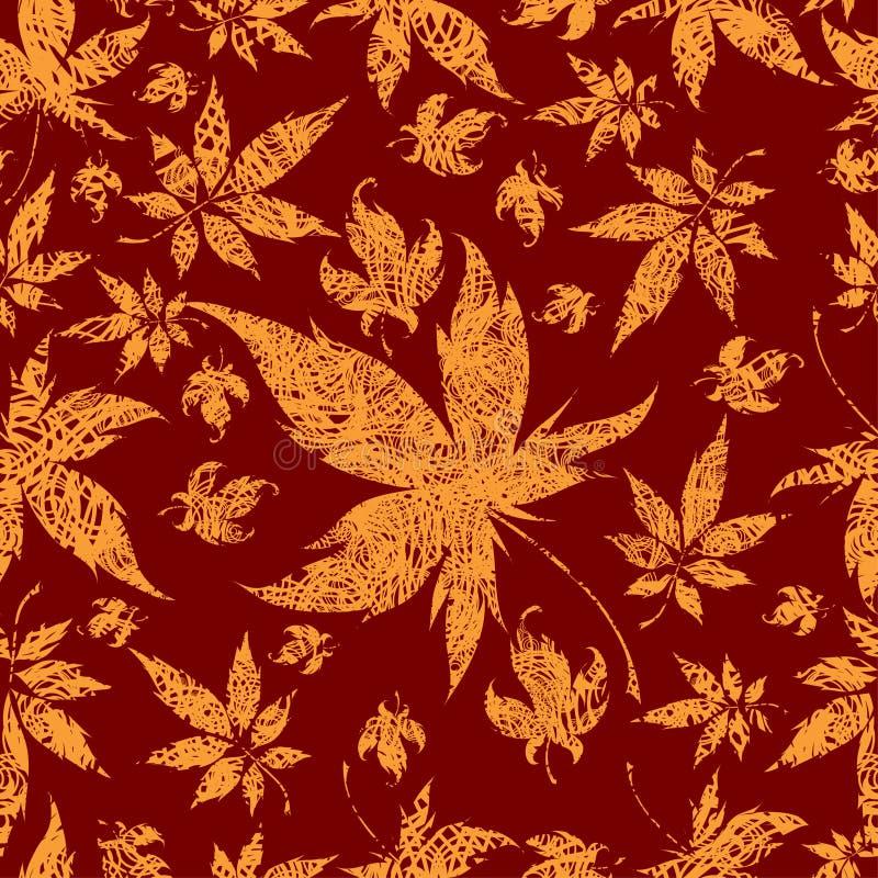 ζωηρόχρωμα φύλλα ανασκόπη&sigm απεικόνιση αποθεμάτων