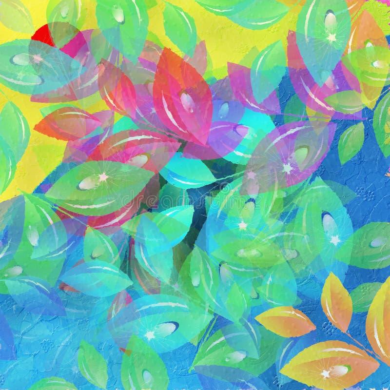 ζωηρόχρωμα φύλλα στοκ εικόνες με δικαίωμα ελεύθερης χρήσης