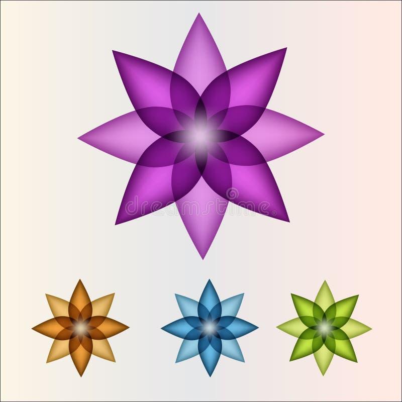 ζωηρόχρωμα pinwheels διανυσματική απεικόνιση