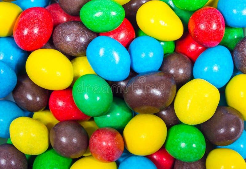 Ζωηρόχρωμες γλυκές καραμέλες στοκ φωτογραφία με δικαίωμα ελεύθερης χρήσης