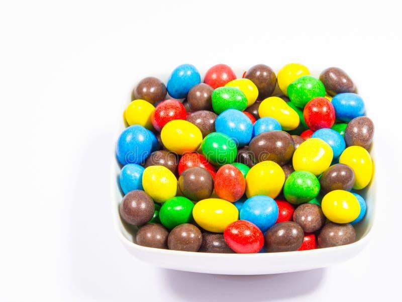 Ζωηρόχρωμες γλυκές καραμέλες στοκ εικόνα