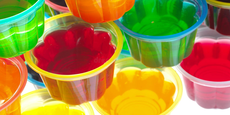 ζωηρόχρωμες ζελατίνες στοκ φωτογραφία με δικαίωμα ελεύθερης χρήσης