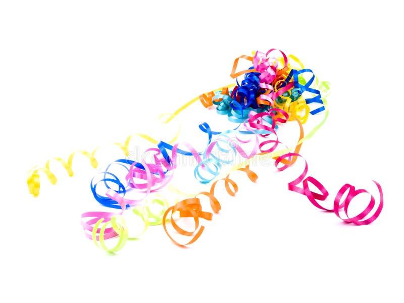 Download ζωηρόχρωμες κορδέλλες στοκ εικόνα. εικόνα από κίτρινος - 17051457