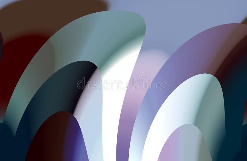 Ζωηρόχρωμες σκοτεινές μορφές αντίθεσης, χρώματα, μορφές, γραφική παράσταση αφηρημένη σύσταση ανασκόπη&sigm διανυσματική απεικόνιση