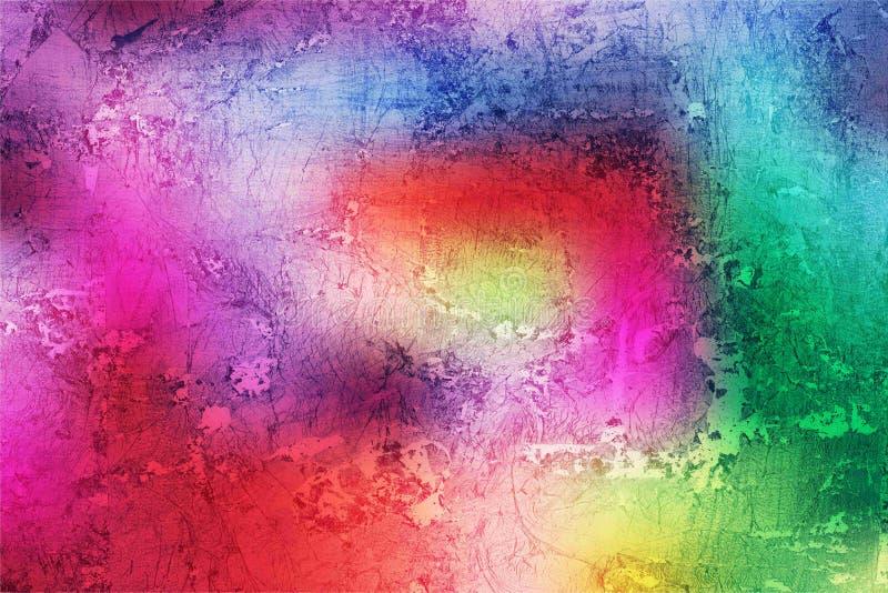 Ζωηρόχρωμη απεικόνιση υποβάθρου τοίχων κατασκευασμένη αφηρημένη απεικόνιση αποθεμάτων