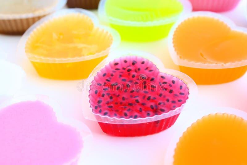 ζωηρόχρωμη γλυκύτητα ζελ& στοκ εικόνα με δικαίωμα ελεύθερης χρήσης