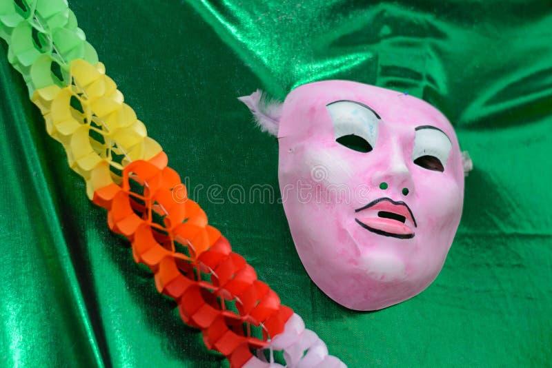Ζωηρόχρωμη διακόσμηση καρναβαλιού στοκ φωτογραφίες με δικαίωμα ελεύθερης χρήσης