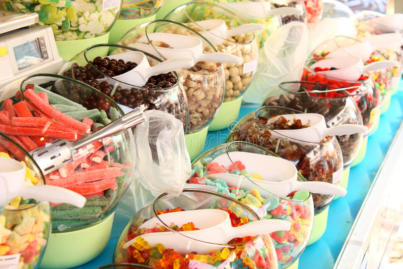 Download ζωηρόχρωμη ζελατίνα καραμ& στοκ εικόνα. εικόνα από snack - 13188385
