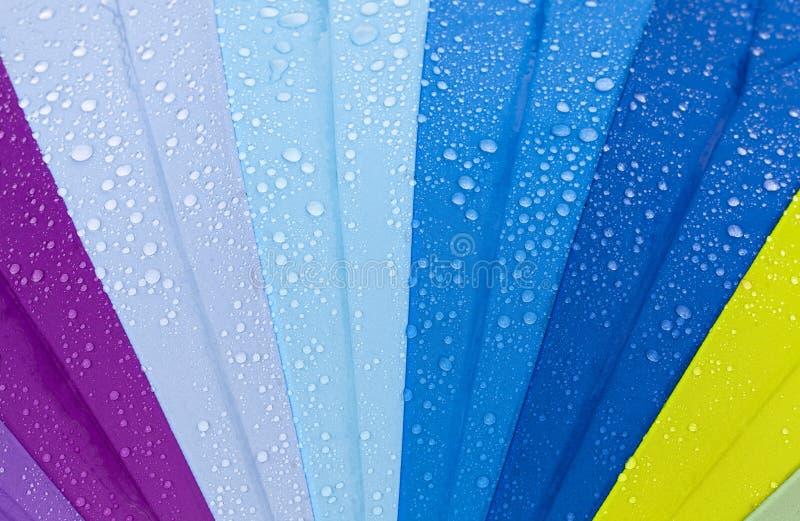 ζωηρόχρωμη ομπρέλα στοκ φωτογραφίες
