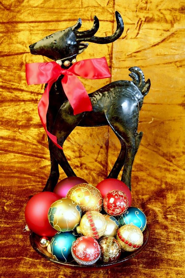 ζωηρόχρωμη παρουσίαση Χριστουγέννων στοκ φωτογραφία με δικαίωμα ελεύθερης χρήσης