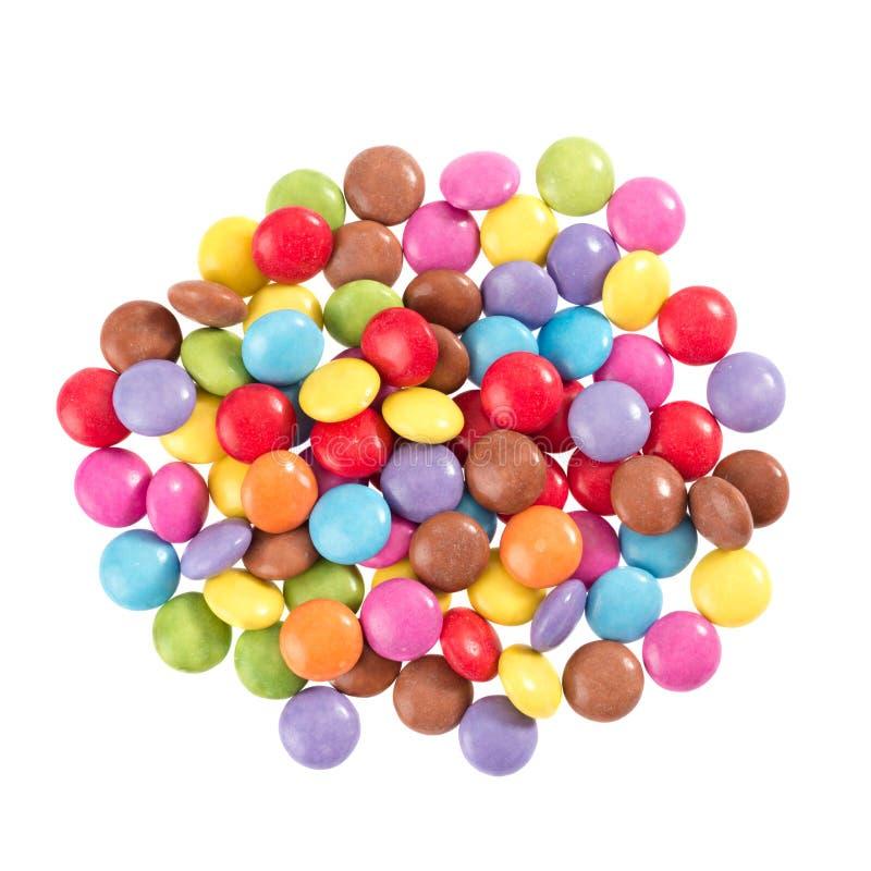 Ζωηρόχρωμη σοκολάτα στοκ εικόνα