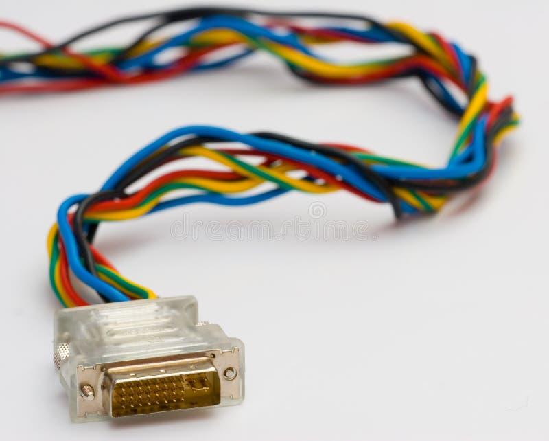 ζωηρόχρωμη σύνδεση ι καλώδ& στοκ φωτογραφία με δικαίωμα ελεύθερης χρήσης