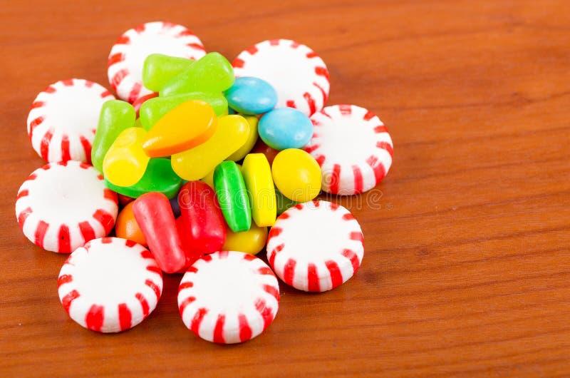 Ζωηρόχρωμη σύσταση καραμέλας καραμελών γλυκών στοκ φωτογραφίες με δικαίωμα ελεύθερης χρήσης