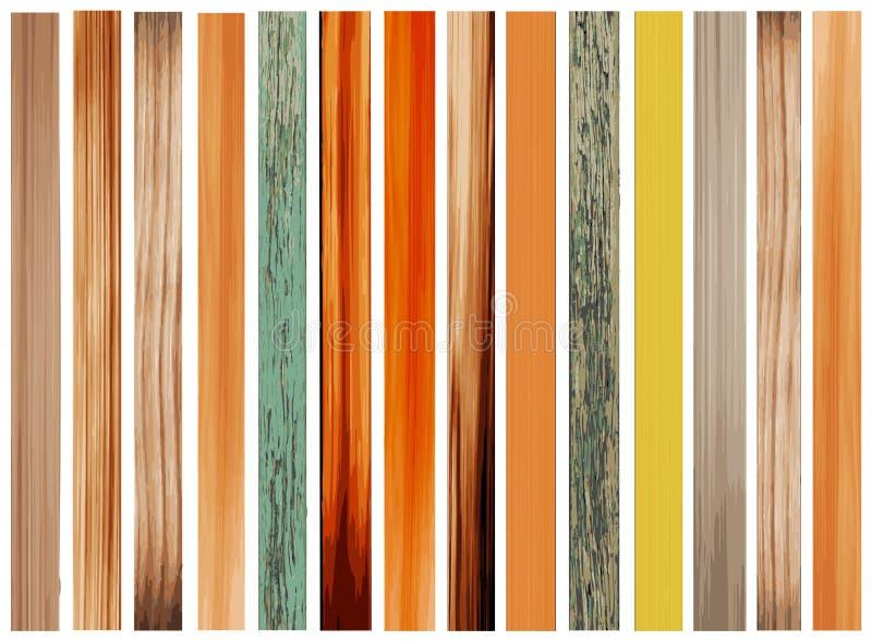 Ζωηρόχρωμη σύσταση του δάσους   διανυσματική απεικόνιση