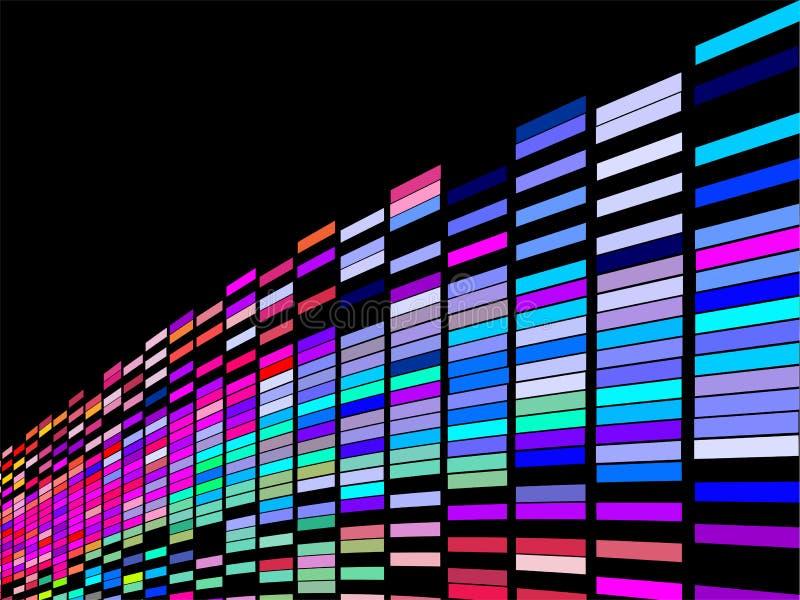 Download Ζωηρόχρωμη τετραγωνική ανασκόπηση Διανυσματική απεικόνιση - εικονογραφία από party, backfill: 13182839