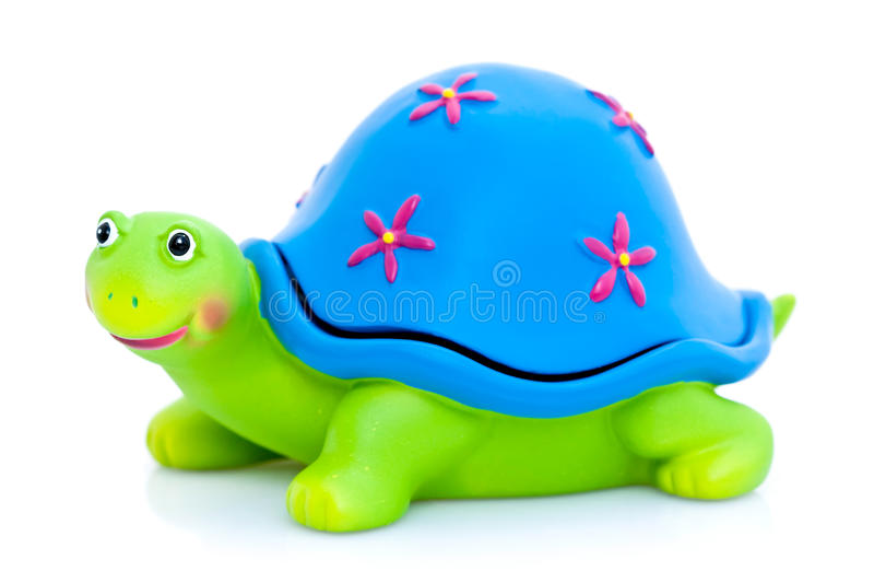 ζωηρόχρωμη χελώνα διακοσ& στοκ φωτογραφίες με δικαίωμα ελεύθερης χρήσης