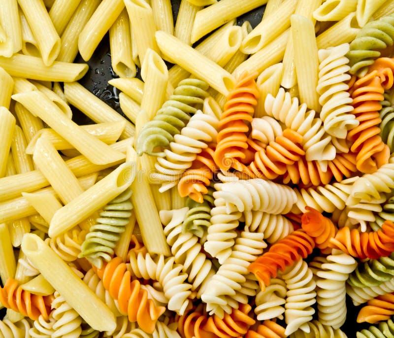 Ζωηρόχρωμη macaroni ανασκόπηση στοκ φωτογραφία με δικαίωμα ελεύθερης χρήσης