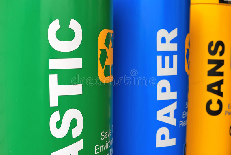 ζωηρόχρωμος ανακύκλωση&sigmaf στοκ εικόνα