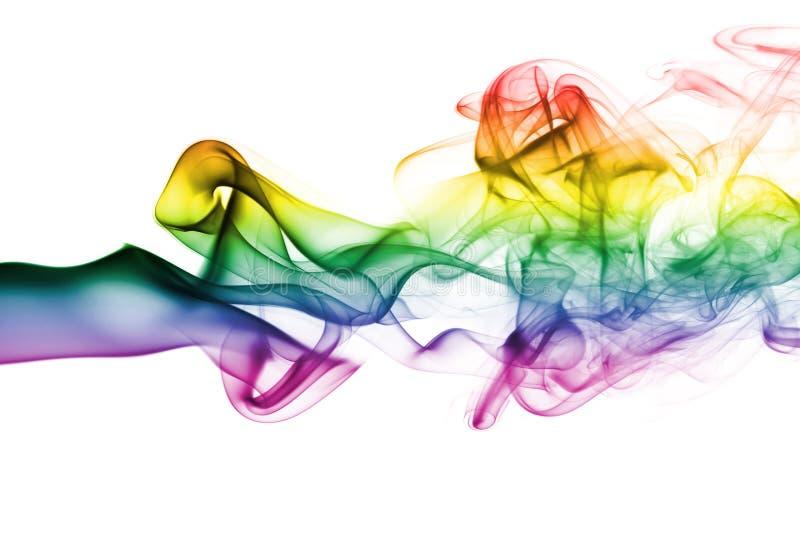 ζωηρόχρωμος καπνός ουράνι& στοκ εικόνα με δικαίωμα ελεύθερης χρήσης