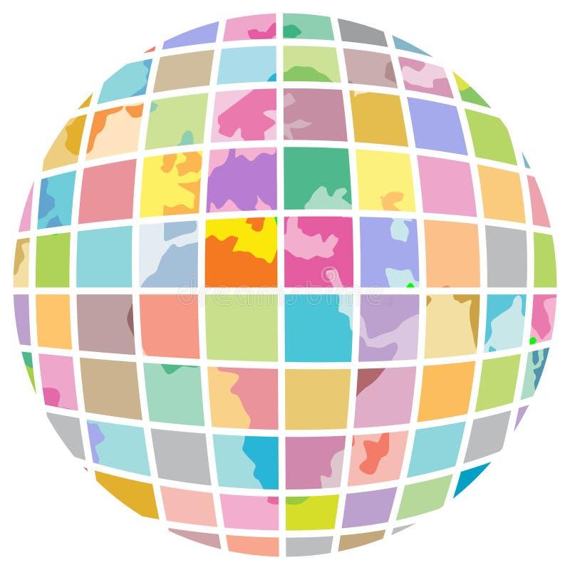 ζωηρόχρωμος κόσμος ελεύθερη απεικόνιση δικαιώματος