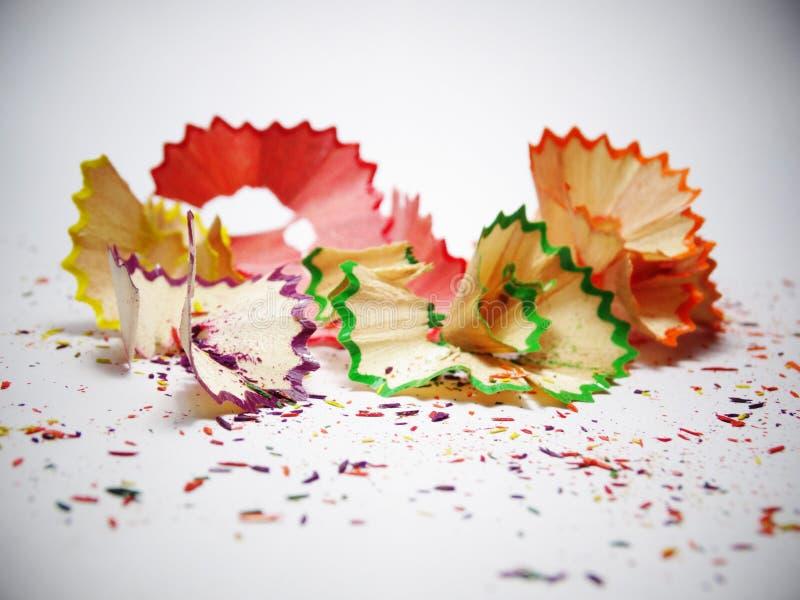 Ζωηρόχρωμος του μολυβιού χρώματος στοκ εικόνα με δικαίωμα ελεύθερης χρήσης