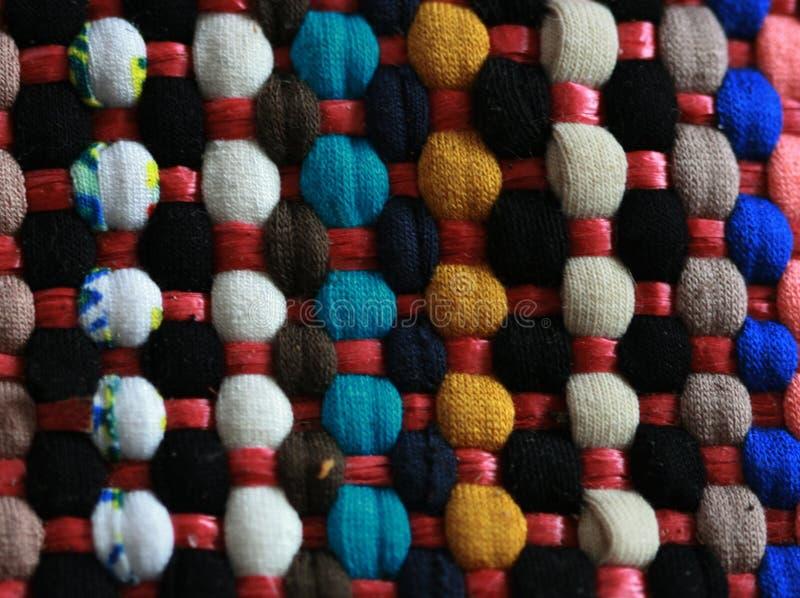 Ζωηρόχρωμος χειροποίητος τουρκικός τάπητας, χρώματα, στοκ φωτογραφία με δικαίωμα ελεύθερης χρήσης