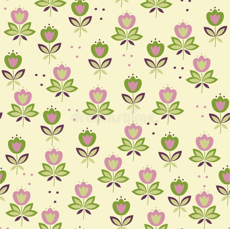 Download ζωηρόχρωμος Floral ανασκόπησης Διανυσματική απεικόνιση - εικονογραφία από floral, seamless: 22793247